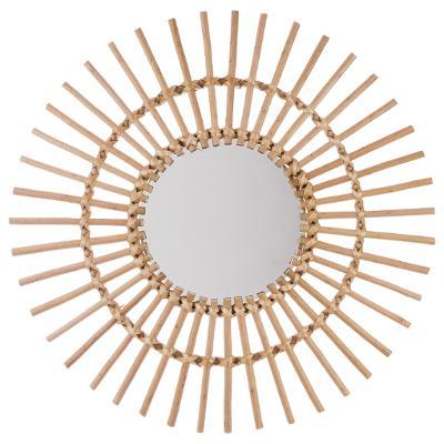 miroir rotin 58cm